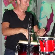 Paul Crowley on percussion