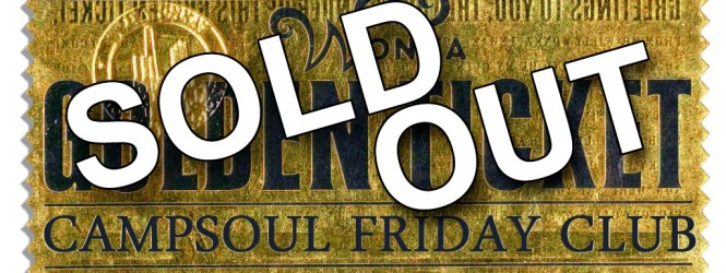 SOLD OUT!! Friday Club and VIP Front Row Tents Pitches