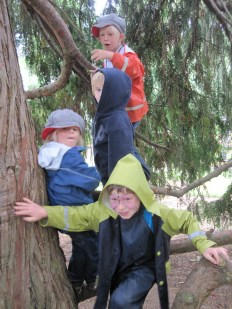 These kids love to climb!