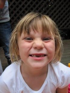 Triniti lost a tooth!