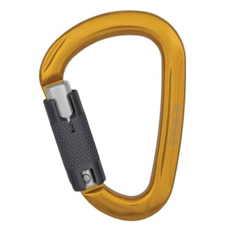 Cypher Iris HMS Locking Climbing Carabiner - 3 Stage Lock