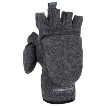 Tyrol Wool Convertible Glove by Outdoor Designs