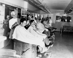 Barber Shop - Image courtesy of MSU Archives & Historical Collections