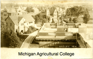 Courtesy http://onthebanks.mdu.edu/Obkect/1-4-E6/photographs-michigan-agricultural-college-scrapbook/