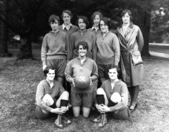 1932 Women's MSU Basketball Team. Courtesy MSU Archives