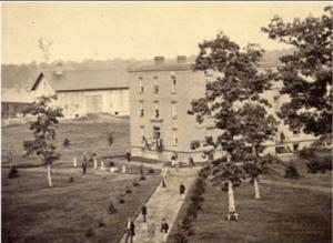 Saint's Rest Dormitory - ca 1865