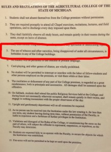 Rules at Saints Rest Dormitory