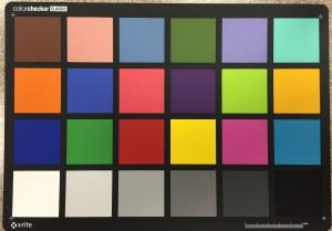 XRite Color Checker