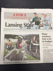 CAP in the Lansing State Journal