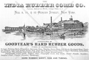 India Rubber Company Ad - Image Source