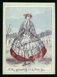 Balmoral Skirt. Image Source: American Textile History Museum