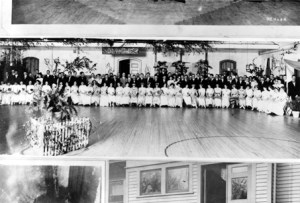 1912 Olympic Dance. Image courtesy of MSU Archives & Historical Collections