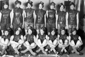 1927 co-ed prom. Image courtesy of MSU Archives & Historical Collections