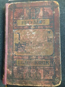​Home Cookbook (Chicago, 1877). Image courtesy of MSU Special Collections.