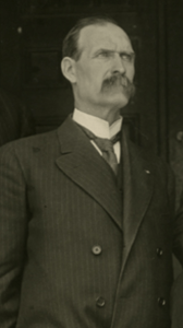 Professor Thomas Gunson c. 1910. Image courtesy of MSU Archives & Historical Collections