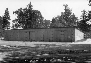 Artillery Shed/Garage. Image courtesy of MSU Archives & Historical Collections.
