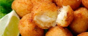 Codfish balls closeup!