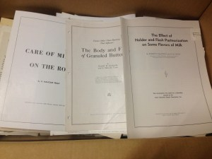 Research Papers by G. Malcolm Trout (courtesy John Partridge)