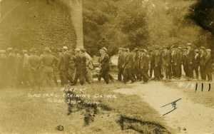 MAC training detachment c. 1910. Image courtesy of MSU Archives & Historical Collections.