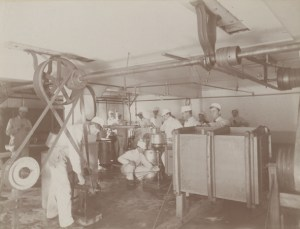 Students Attending first Dairy course, ca. 1895. Image courtesy of MSU Archives & Historical Collections