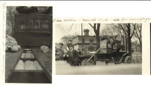 Photo of alcohol smuggling bust from truck with false bottom. Image courtesy of MSU Archives & Historical Collections.