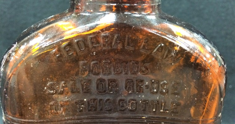 Water of Life: How One Whiskey Bottle can Remind Us of an Infamous Part of Michigan History