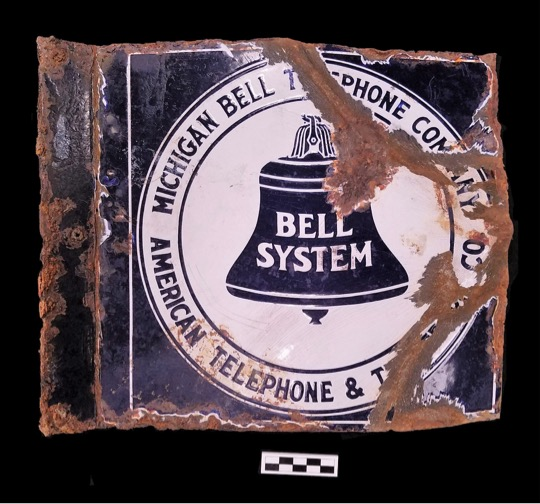 If You'd Like to Make a Call…: The Michigan Bell Telephone Sign from the Brody Dump