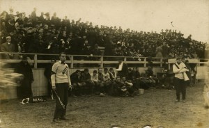 Football Revelry ca. 1910