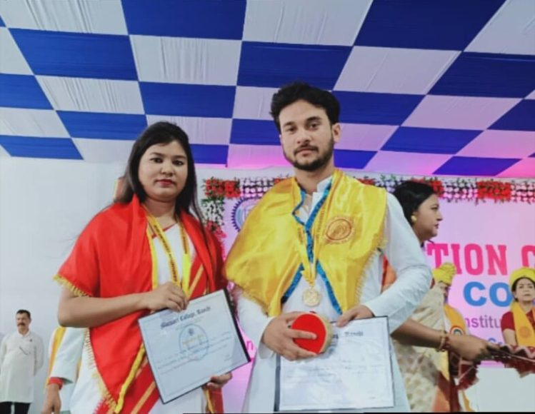 Graduation Ceremony in Marwari College