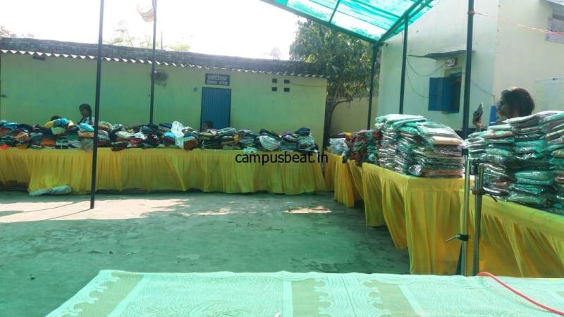 RSS conducts Cloth Donation Drive