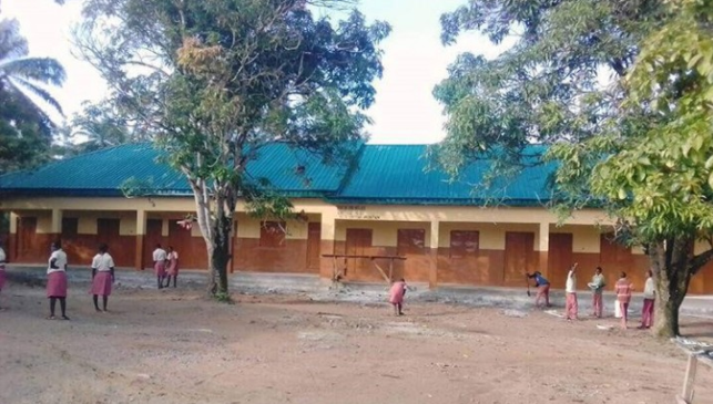 Dino Melaye Builds Two Schools For His Constituency (Photos)