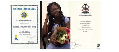 Lady Who Left Nigeria Due To ASUU Strike Graduates From UK With 5.0gp