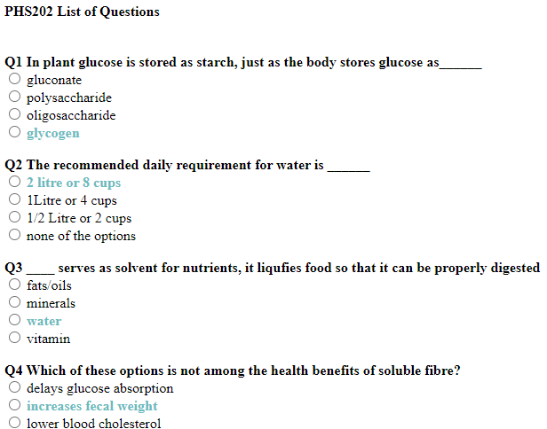 PHS202 Tma Past Questions and Answers (NOUN)