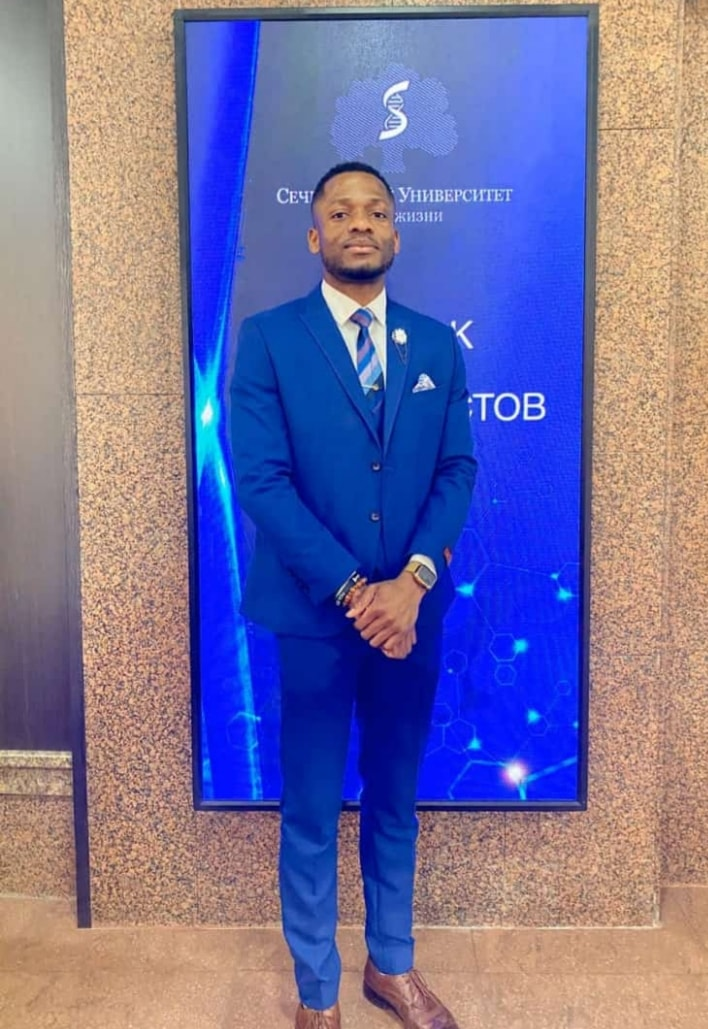 Chidubem Obi Graduates With 5.0 GP In A Russian University