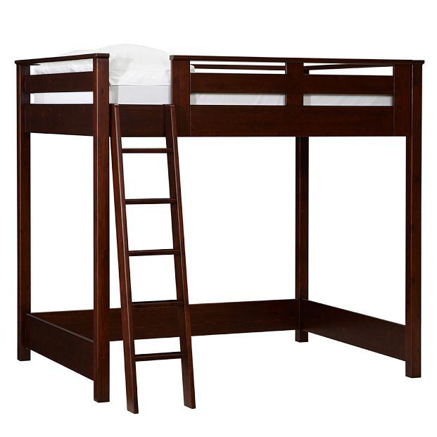 college loft bed plans free