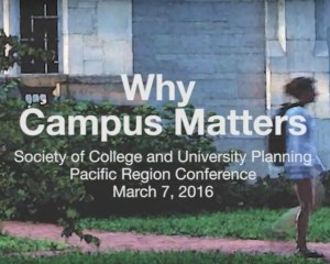 Why Campus Matters