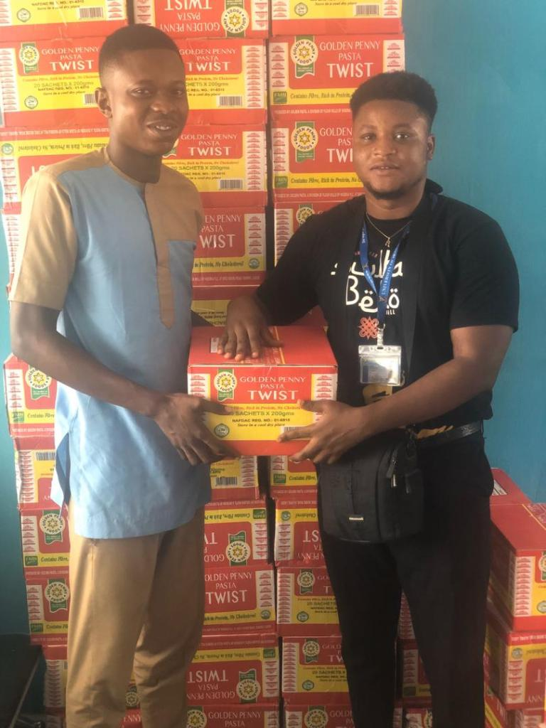 EXAMS IN UI: STUDENTS' UNION DISTRIBUTES SUPPORT ITEMS TO STUDENTS.
