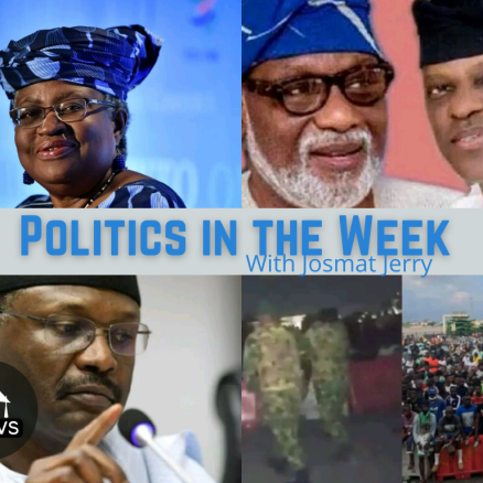POLITICS IN THE WEEK – October 31, 2020