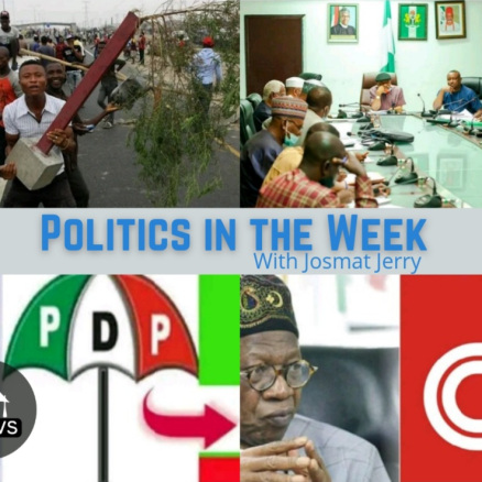 Politics In The Week; Josmat Jerry