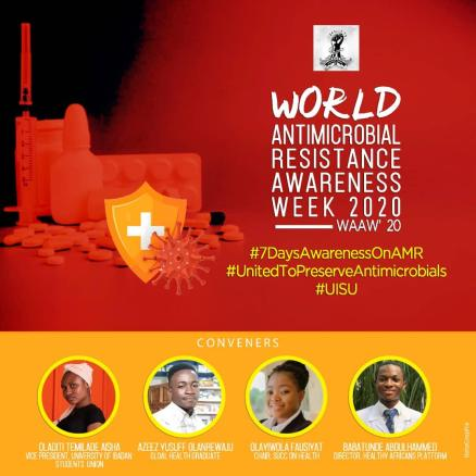 UISU SPECIAL RELEASE 05418/11/2020 – World Antimicrobial Awareness Week(WAAW)