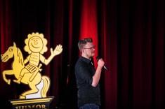 07.03.2018, 4. Humorzone Dresden 2018, Humor-Festspiele, Schauburg, Humorzone-WarmUp-Show, Comedian Maxi Gstettenbauer