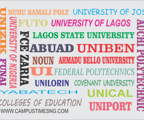 List Of Universities That Accepts 180 In JAMB