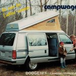 Campwagon par excellence - Advertising leaflet for Dodge Caravan – Voyager RAM