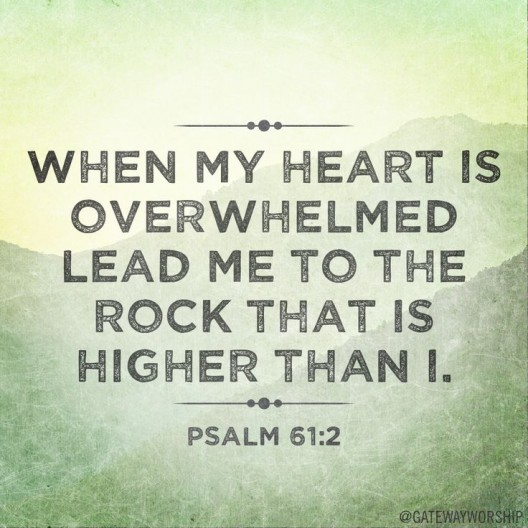 Psalm 61 ... Lead Me To The Rock | Camp Wyoming