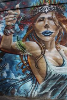 Street Art on the 16th Street Mall in Denver, Colorado
