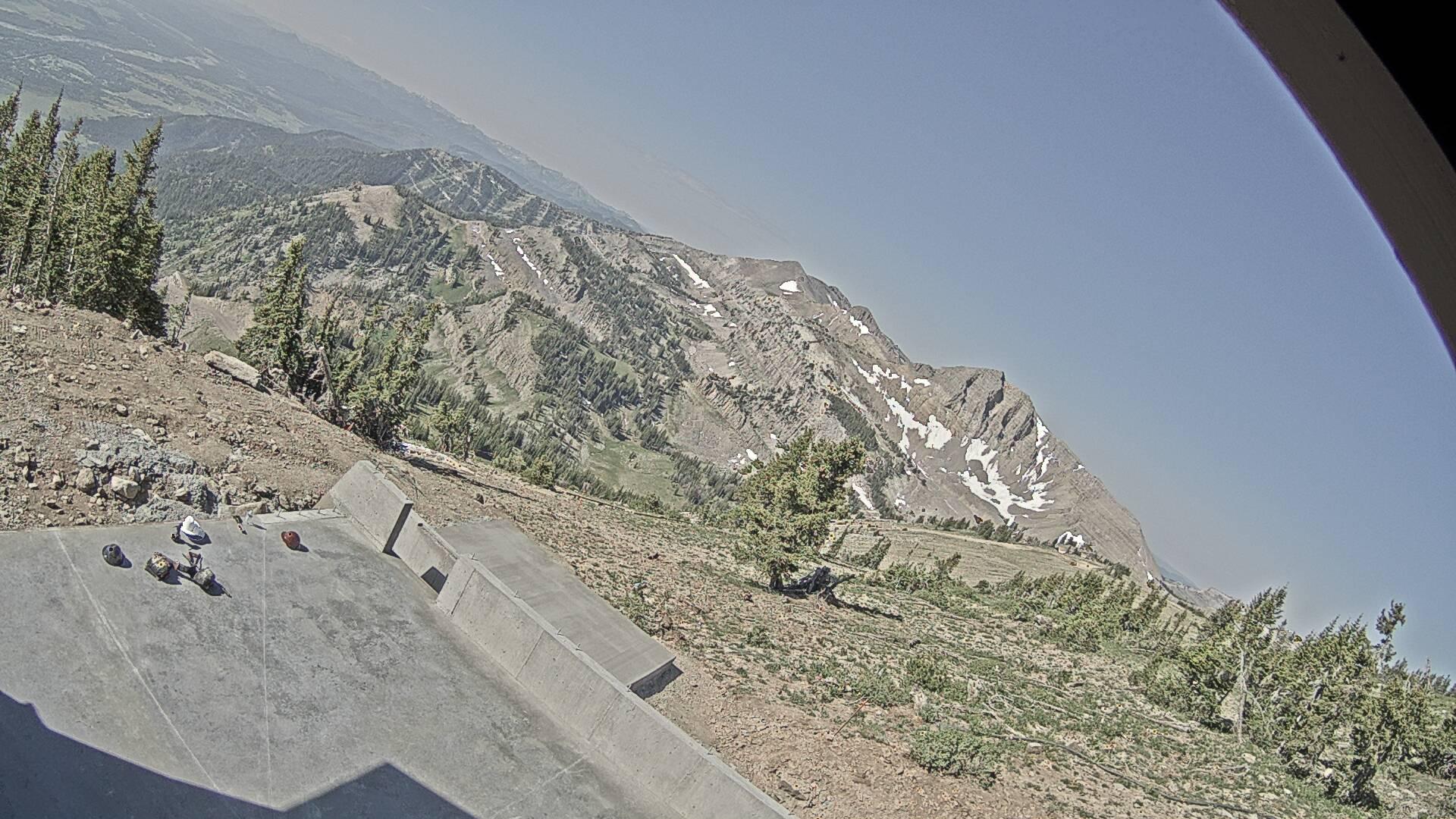 Jackson Hole Tram Summit Webcam Image