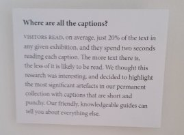 caption from little museum