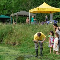 The BioBlitz lands in a Cambridge College