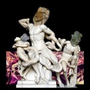 REILLY, Laocoon (2014), new media collage. Image: ©REILLY 2015