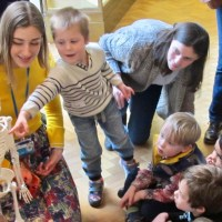 Science, art, and wonder: Preschoolers at the Science Festival